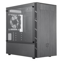 Gabinete Gamer Cooler Master MB400L, Mini Tower, com FAN, Lateral em Vidro - MCB-B400L-KG5N-S00