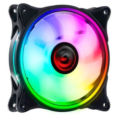 Cooler Fan PCYES, HURACAN H2 120MM RGB, 6 Pinos - PH2RGB120