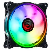 Cooler Fan PCYES, HURACAN H2 120MM RGB, 6 Pinos - PH2RGB120