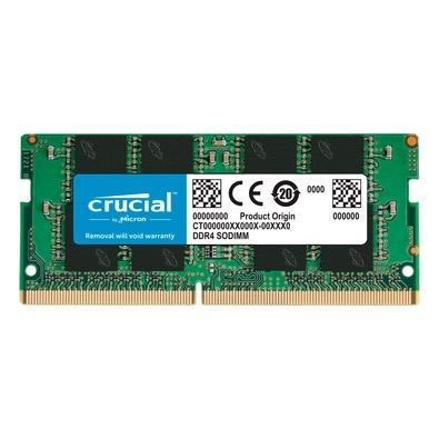 Memória Crucial, 4GB, DDR4, 2666Mhz (PC4-21300) CL19 SR x16 SODIMM 260pin - CT4G4SFS6266