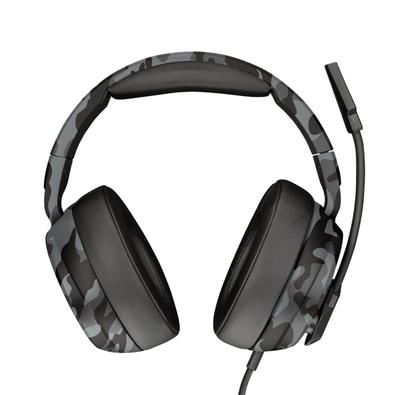 Headset Gamer Trust GXT 433K Pylo, Drivers 50mm, PS4, Xbox One, Switch, PC, Camuflado - 23939