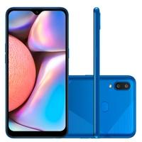 Smartphone Samsung Galaxy A10s, 32GB, RAM 2GB, Octa-Core, 13MP, Tela 6.2´, Azul Absurdo -  SM-A107MDBRZTO