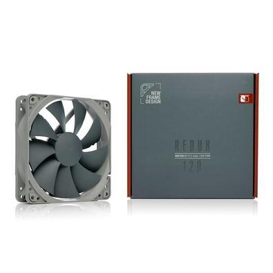 Cooler FAN Noctua 120mm, para PC, Cinza - NF-P12 Redux-1300 PWM