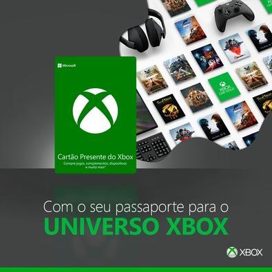 Gift Card Xbox: 40 Reais - Código Digital