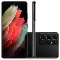 Samsung Galaxy S21 Ultra 5G, 256GB, RAM 12GB, Octa-Core, Câmera Quádrupla, Preto - SM-G998BZKSZTO