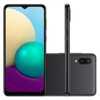 Smartphone Samsung Galaxy A02, 32GB, RAM 2GB, Quad-Core, 13MP, Preto - SM-A022MZKRZTO