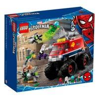 LEGO Super Heroes Marvel - Caminhão Gigante de Homem-Aranha vs. Mysterio, 439 Peças - 76174