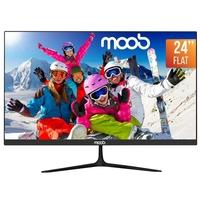 Monitor LED 24'' MOOB, 75Hz, HDMI, Preto