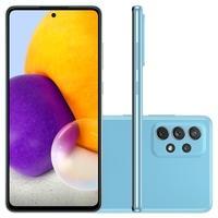Samsung Galaxy A72, 128GB, 6GB RAM, Octa-Core, Câmera Quádrupla, Azul - SM-A725MZBRZTO