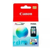 Cartucho de Tinta Canon CL-211 XL COL, 13ml - 2975B017AA