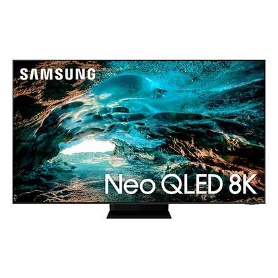 Smart TV Samsung 75´ 8K Neo QLED 75QN800A, Mini Led, 120hz, Processador IA, Tela Infinita, Ultrafina, Alexa Built In - QN75QN800AGXZD