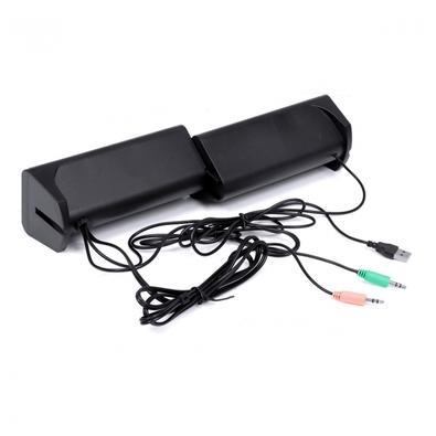 Caixa de Som Vinik 2.0 DUAL CXDU-BT, Bluetooth 5.0, 6W, Conexão P2 e USB, Preto - 34859