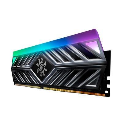 Memória XPG Spectrix D41 RGB, 8GB, 3000MHz, DDR4, CL16, Cinza - AX4U30008G16A-ST41