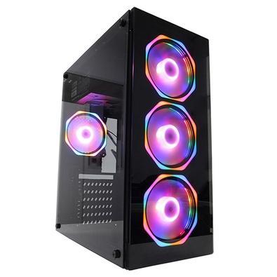 PC Gamer Concórdia Glass i5 10400F, 8GB DDR4, SSD 480GB, RX 550 4GB, Fonte 500W, Windows 10 Pro - 40554