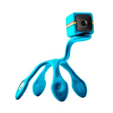 Tripé Polaroid Flexipod para Cube HD, Versátil e Flexível, Azul - POLPODBL