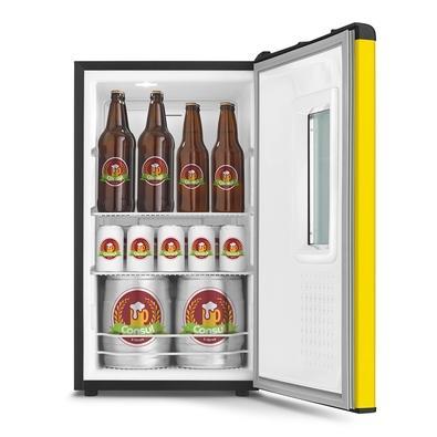 Cervejeira Consul CZD12AY, para 75 Latas e 5 Níveis de Temperatura, 127V,  Amarela - CZD12AYANA