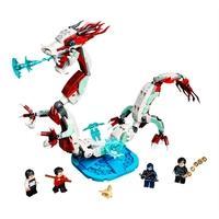 LEGO Super Heroes Marvel - Batalha na Vila Antiga, 400 Peças - 76177