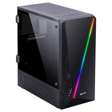 PC Gamer Skul 5000 Ryzen 5 2400G, 8GB, SSD 240GB, Fonte 550W, Linux Ubuntu - 107469