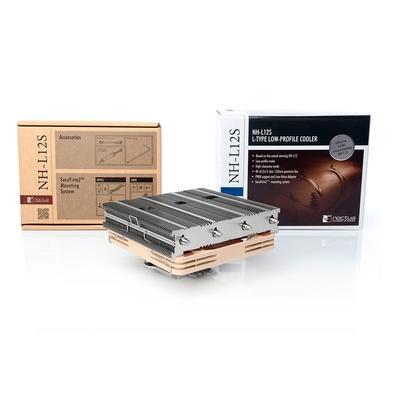 Cooler para Processador Noctua, 120mm, Compacto, AMD/Intel - NH-L12S