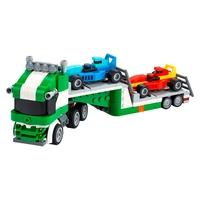 LEGO Creator 3 Em 1 - Transportador de Carros de Corrida, 328 Peças - 31113