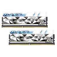 Memória G.Skill Trident Z Royal Elite, RGB, 16GB (2x8GB), 3600MHz, DDR4, CL14, Prata - F4-3600C14D-16GTESA
