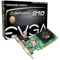 Placa de Vídeo EVGA NVIDIA GeForce GT 210 1GB, DDR3 - 01G-P3-1312-LR