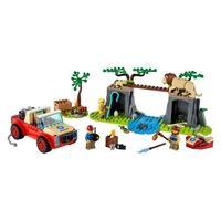 LEGO City - Off-Roader para SalvarAnimais Selvagens, 157 Peças - 60301
