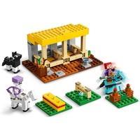 LEGO Minecraft - O Estábulo de Cavalos, 241 Peças - 21171