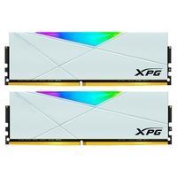 Memória XPG Spectrix D50, RGB, 16GB (2x8GB), 3600MHz, DDR4, CL18, Branca - AX4U36008G18I-DW50