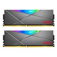Memória XPG Spectrix D50, RGB, 32GB (2x16GB), 3600MHz, DDR4, CL18, Cinza - AX4U360016G18I-DT50
