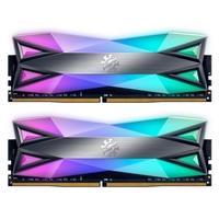 Memória XPG Spectrix D60G, RGB, 32GB (2x16GB), 3200MHz, DDR4, CL16, Cinza - AX4U320016G16A-DT60
