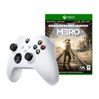 Controle Sem Fio Xbox Robot White + Jogo Metro Exodus: Complete Edition, Xbox Series