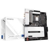 Placa Mãe Gigabyte Z590 VISION D (rev. 1.0), Intel LGA1200, ATX, DDR4, M.2 NVME, Wifi, Bluetooth