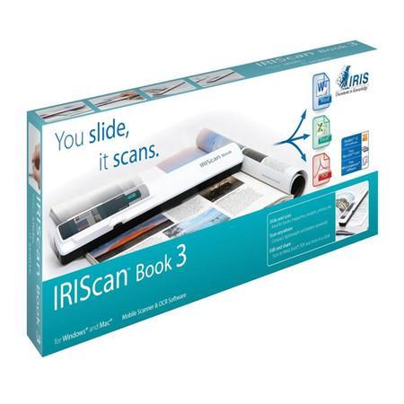 Scanner de Mão Iris Book 3 Colorido 900dpi - 457888