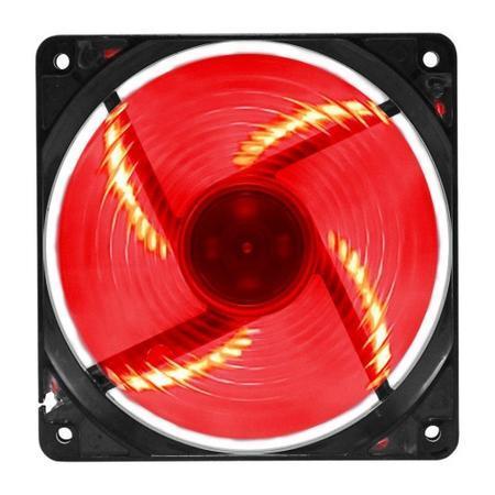Cooler FAN G-FIRE 120x120x25mm Vermelho EW-2252-EGEX