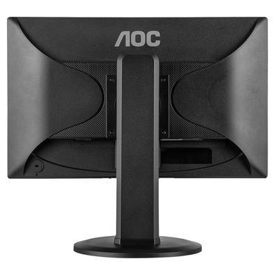 Monitor AOC LED 19.5´ Widescreen, VGA/DVI, Altura Ajustável - E2023PWD