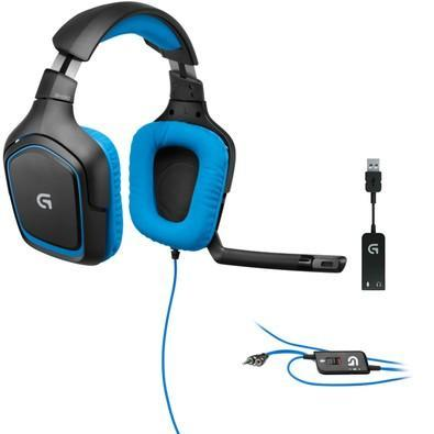 Headset Gamer Logitech G430 7 1 Dolby Surround