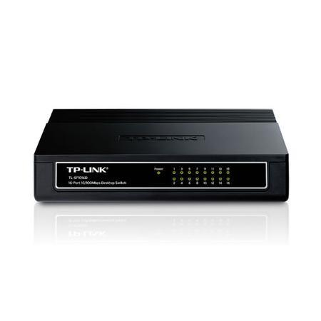 Switch 16 Portas TP-Link 10/100 Mbps TL-SF1016D