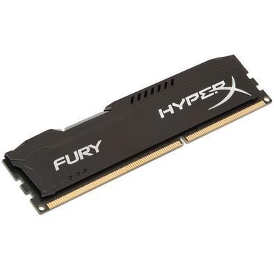 Memória HyperX Fury, 8GB, 1333MHz, DDR3, CL9, Preto - HX313C9FB/8