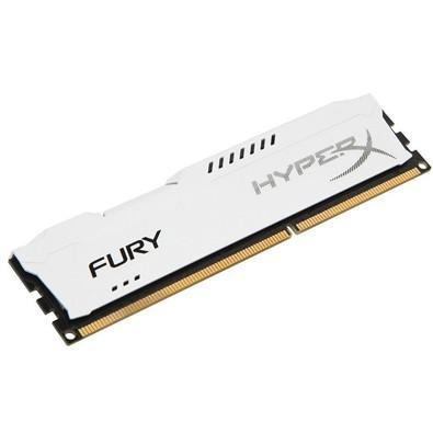 Memória HyperX Fury, 8GB, 1866MHz, DDR3, CL10, Branco - HX318C10FW/8