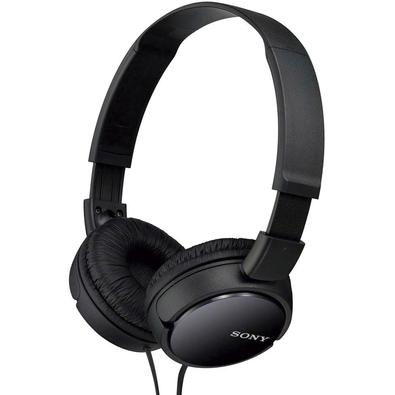 Headphone Sony Preto MDR-ZX110/B
