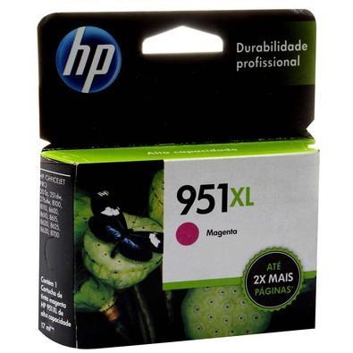 Cartucho de Tinta HP Officejet 951 XL Magenta CN047AB