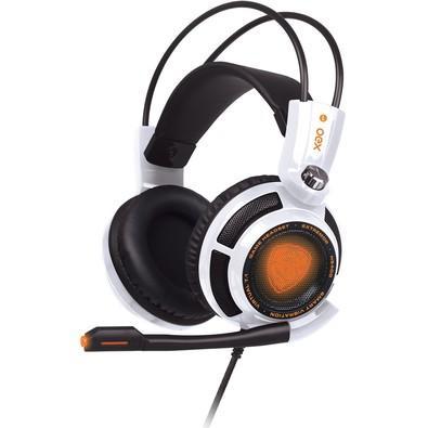 Headset Gamer Oex Extremor 7.1 Vibration HS-400 White