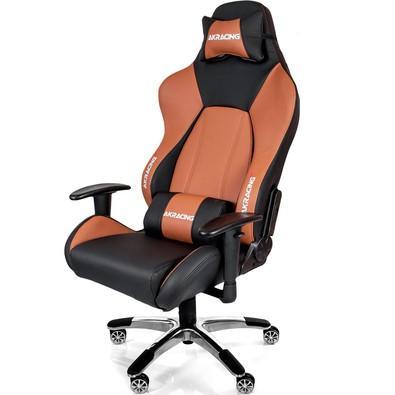 Cadeira Gamer AKRacing Premium V2, Black Brown - 10045-0