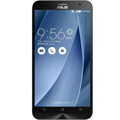 Smartphone Asus Zenfone 2, 16GB, 13MP, Tela 5.5´, Prata - ZE551ML-6J544WW