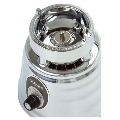 Liquidificador Oster Clássico 4655 com Jarra de Vidro 3 Velocidades 127V Prata  4655-017