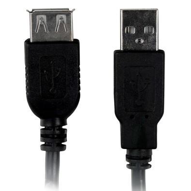 Plus Cable Cabo Extensor USB A Macho x A Fêmea 1,8m - PC-USB1802