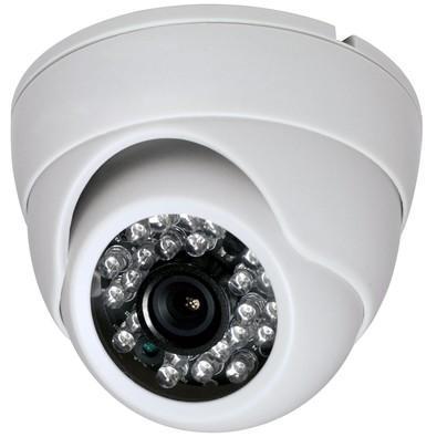 Câmera Alive Dome Interna 25m Ahd 1 Mega Pixel Lente 2,8 Mm - Al-d 1025
