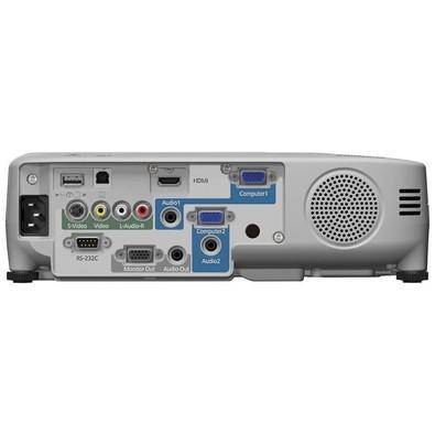 Projetor Epson Powerlite SVGA 2700 lumens 3 LCD Bivolt S27 Branco