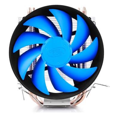 Cooler para Processador Gamer DeepCool GAMMAXX 200T Intel LGA1156/1155/1150/775 AMD FM2/FM1/AM3+/AM3/AM2+/AM2/940  DP-MCH2-GMX200T